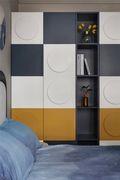 经济型110平米三室两厅现代简约风格卧室装修案例