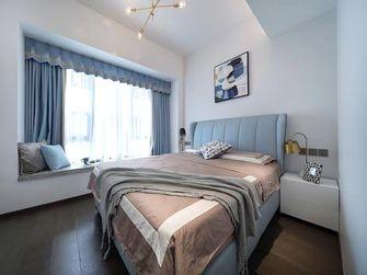 130平米三室一厅现代简约风格卧室装修案例