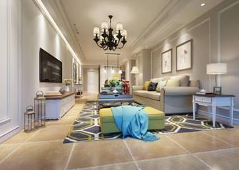豪华型三室三厅美式风格客厅设计图
