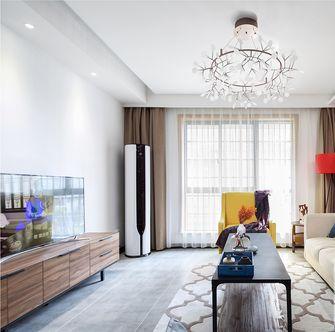 15-20万90平米三室一厅美式风格客厅效果图