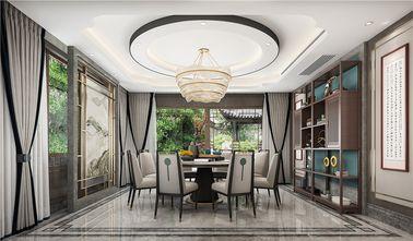 豪华型140平米别墅新古典风格餐厅装修效果图