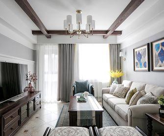 100平米三室一厅地中海风格客厅图片大全