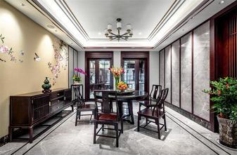 20万以上140平米四室三厅中式风格餐厅设计图