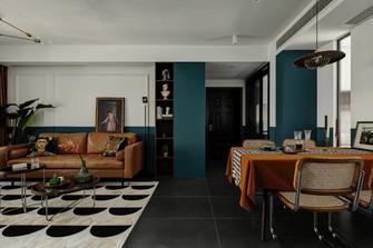 100平米三新古典风格餐厅设计图
