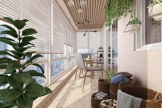 110平米四室两厅北欧风格阳台装修案例