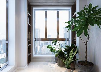 5-10万120平米三室两厅北欧风格阳台设计图
