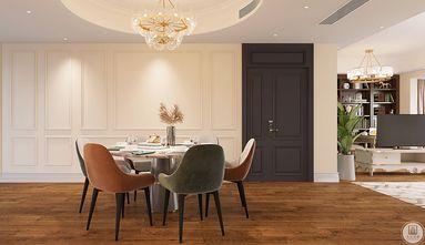 140平米四美式风格餐厅图片