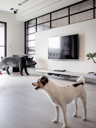 130平米三室一厅工业风风格客厅欣赏图