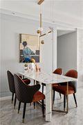 富裕型四室一厅混搭风格餐厅欣赏图