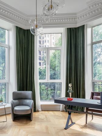 豪华型130平米三室两厅美式风格阳台图片大全