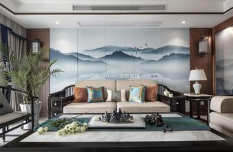 140平米四混搭风格客厅欣赏图
