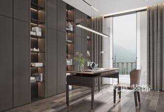 经济型120平米三中式风格书房设计图