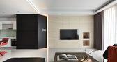 豪华型90平米现代简约风格客厅图片