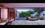 豪华型140平米三室两厅美式风格阳光房效果图