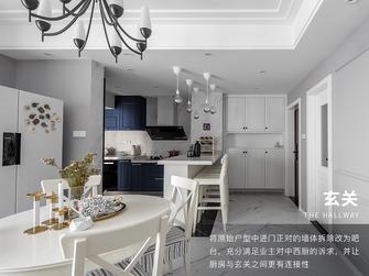 富裕型三室三厅美式风格玄关装修效果图