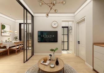 经济型50平米公寓日式风格客厅效果图