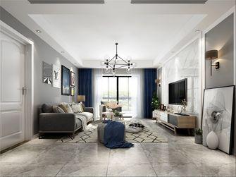 100平米三室两厅北欧风格客厅效果图