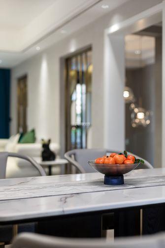 豪华型140平米别墅轻奢风格餐厅装修图片大全