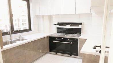 富裕型140平米三室一厅欧式风格厨房图片
