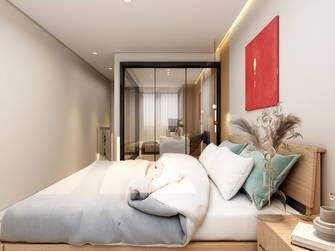 5-10万30平米以下超小户型日式风格卧室装修图片大全