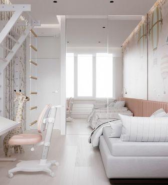 豪华型120平米三室两厅现代简约风格书房图片