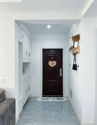 5-10万80平米三室两厅北欧风格玄关图