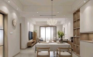 90平米三室三厅日式风格餐厅图片大全