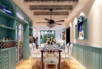 15-20万120平米四室一厅美式风格客厅图