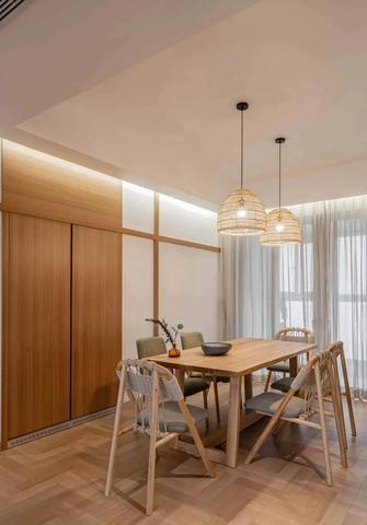 经济型120平米四室两厅日式风格餐厅效果图