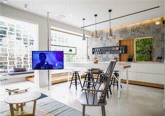 富裕型70平米一室一厅北欧风格餐厅设计图