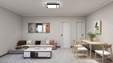 经济型50平米现代简约风格客厅图片