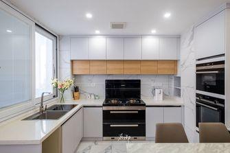 富裕型110平米三北欧风格厨房图片