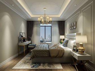 90平米三室三厅欧式风格卧室装修案例