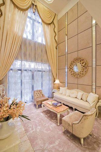 豪华型140平米复式欧式风格客厅装修案例
