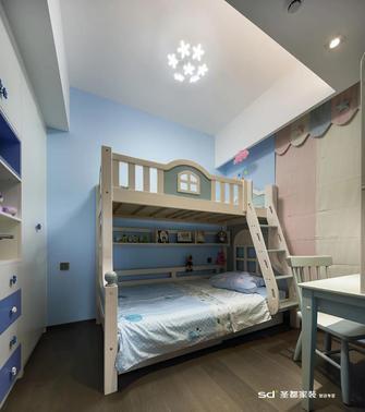 110平米三室两厅工业风风格青少年房图片