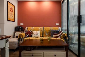 20万以上40平米小户型混搭风格客厅装修图片大全