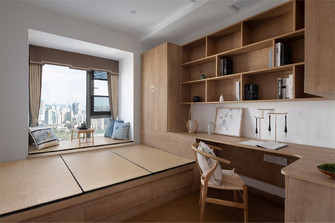 5-10万90平米新古典风格书房装修效果图
