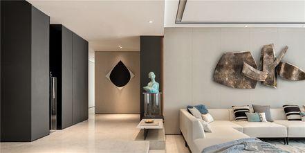 140平米中式风格客厅设计图