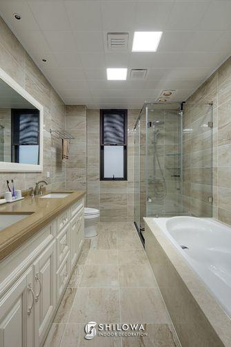 豪华型140平米四室两厅美式风格卫生间图片大全