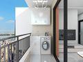 经济型40平米小户型现代简约风格阳台图片