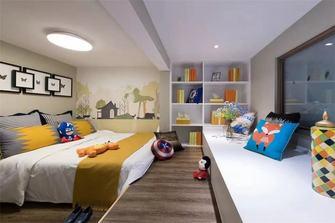 5-10万50平米复式田园风格青少年房装修效果图
