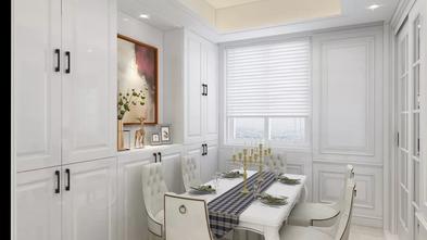 豪华型130平米三室一厅美式风格餐厅图