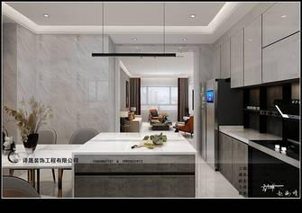 120平米四室四厅现代简约风格厨房图