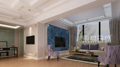 120平米四混搭风格客厅装修效果图