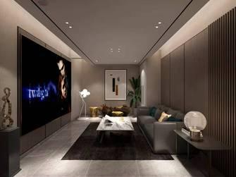 豪华型140平米复式现代简约风格影音室效果图