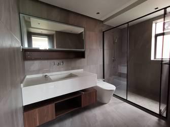 豪华型140平米三室两厅混搭风格卫生间图片大全