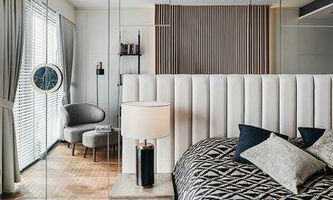豪华型100平米三室两厅港式风格卧室图片大全