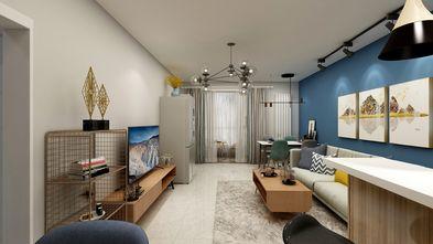 50平米小户型港式风格客厅效果图