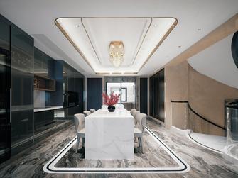 140平米别墅混搭风格餐厅装修图片大全