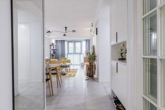 80平米三室两厅北欧风格玄关设计图